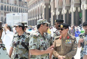 مدير الأمن العام يقوم بجولة ميدانيه في المنطقة المركزية بمكة المكرمة