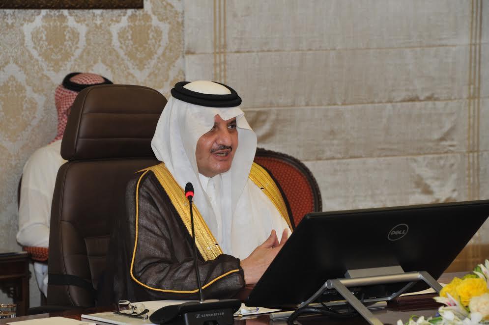 الأمير سعود بن نايف يرأس جلسة مجلس المنطقة الشرقية