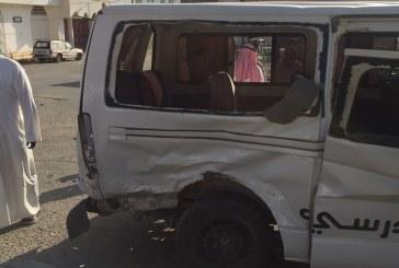 الباحة.. إصابة طالبتين في حادث حافلة تقلّ طالبات بطريق المندق