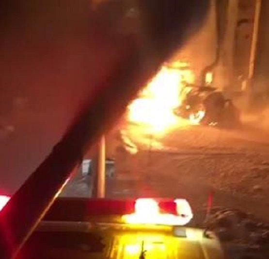 حريق خزان بمحطة أرامكو في الوسيع يتسبب بوفاة و 10 إصابات