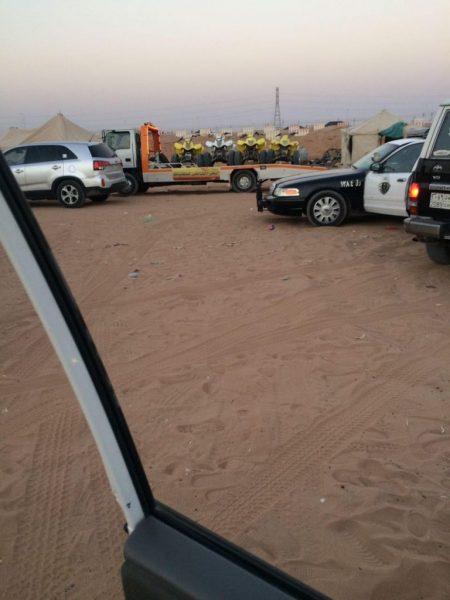 شرطة الرياض تضبط 162 دراجة نارية و13 مخالف بالثمامة
