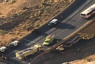70 وفاة وإصابة إثر حادث في عقبة ضلع