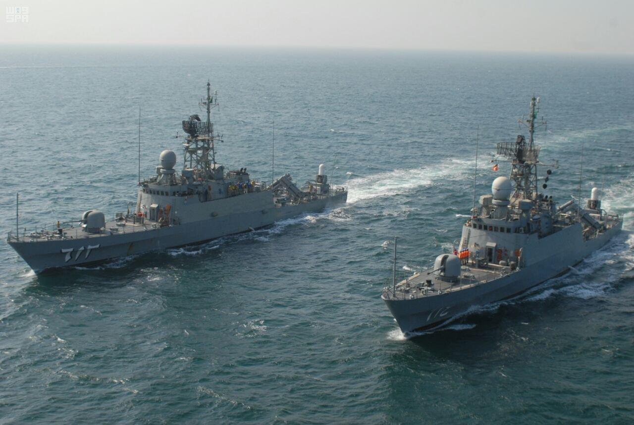 """انطلاق المناورات"""" جسر 17 """" بين البحرية السعودية وسلاح البحرية البحريني"""