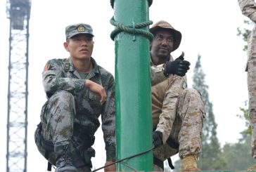 انطلاق تمرين تعايش ( الاستكشاف 2016 م ) بين القوات السعودية والقوات الصينية
