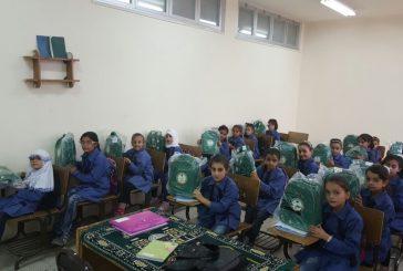 يد الخير..توزيع الحقائب المدرسية على الطلبة السوريين في محافظة إربد