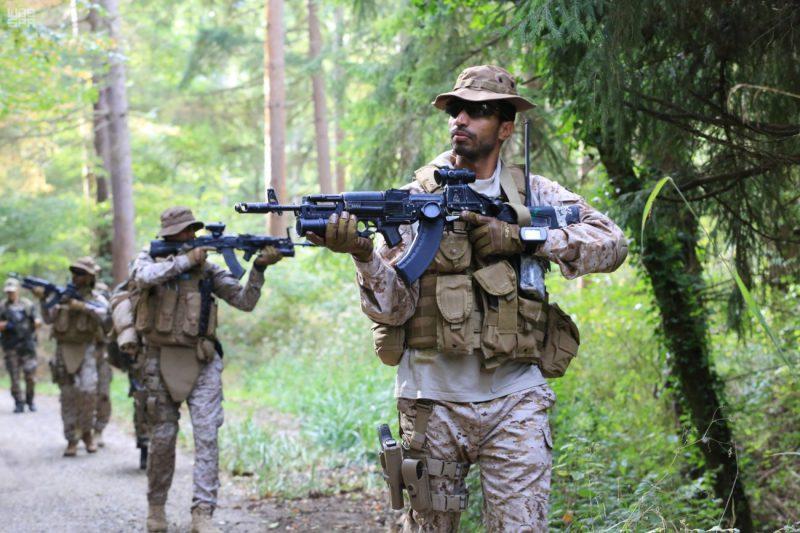 بالفيديو والصور..القوات البرية تُنفِّذ تمريناً مشتركاً مع القوات الفرنسية