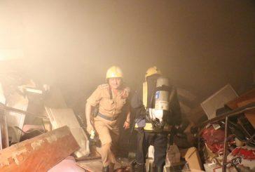 مدني مكة : إشتعال نار في مبنى بحي العزيزية