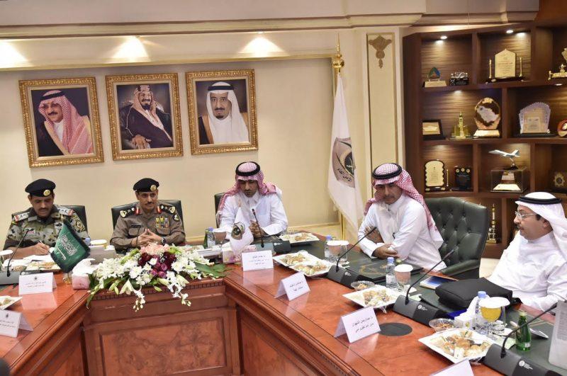 مدير الأمن العام يلتقي أمين هيئة تطوير مكة المكرمة والمشاعر المقدسة