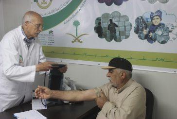 العيادات التخصصية السعودية تتعامل مع 13353 حالة مرضية من اللاجئين السوريين في مخيم الزعتري