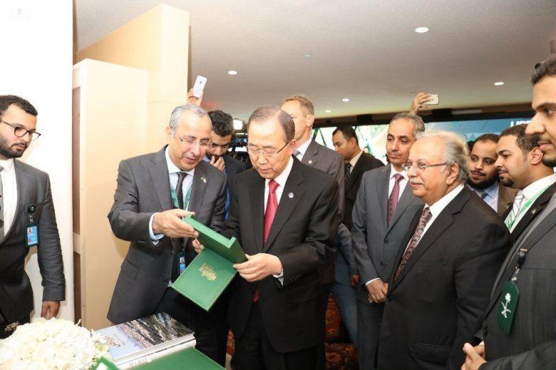 """الأمين العام للأمم المتحدة يزور فعالية """"يوم في الرياض"""""""