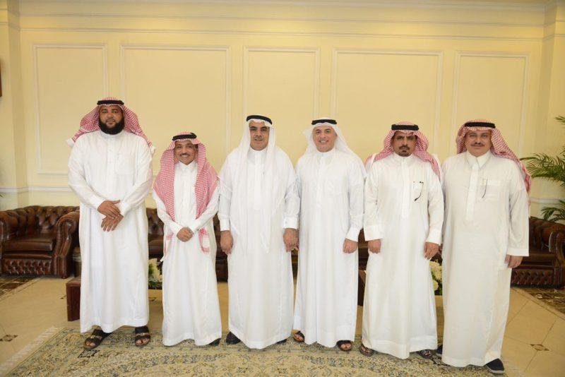 الجبير يستقبل رئيس ونائب المجلس البلدي بمحافظة الجبيل