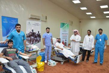 """مستشفى صوير ينظم حملة التبرع """"بقطرة من دمكم تنقذون حياة غيركم """""""
