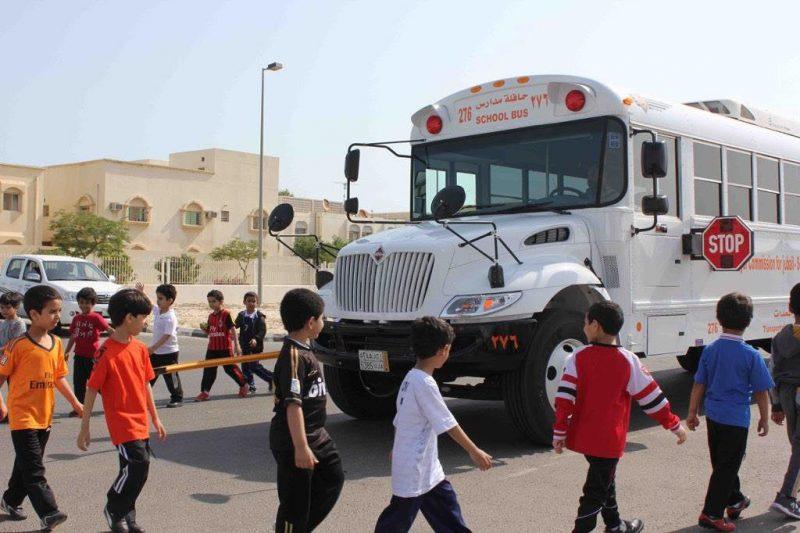 حافلة مدرسية تدهس طالباً في الصف الأول الابتدائي بالجبيل الصناعية
