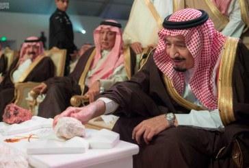 الملك يدشن مشاريع التعدين في مدينة رأس الخير والبنية الأساسية والتنموية