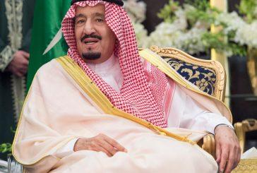 خادم الحرمين الشريفين يستقبل رئيس مجلس إدارة صندوق القدس