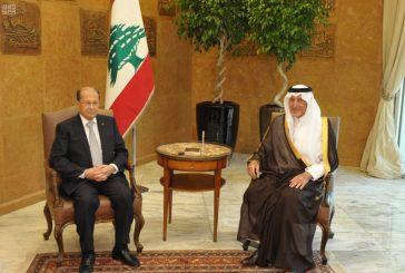 #خالد_الفيصل ينقل دعوة خادم الحرمين للرئيس اللبناني لزيارة المملكة