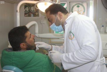 العيادات التخصصية السعودية تتعامل مع 137 لاجىء سوري بعيادة طب الأسنان في مخيم الزعتري
