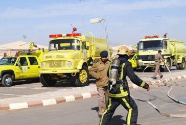 مدني المدينة : إصابة مواطنين ووافدين في احتراق عمارة سكنية بحي الحسنان