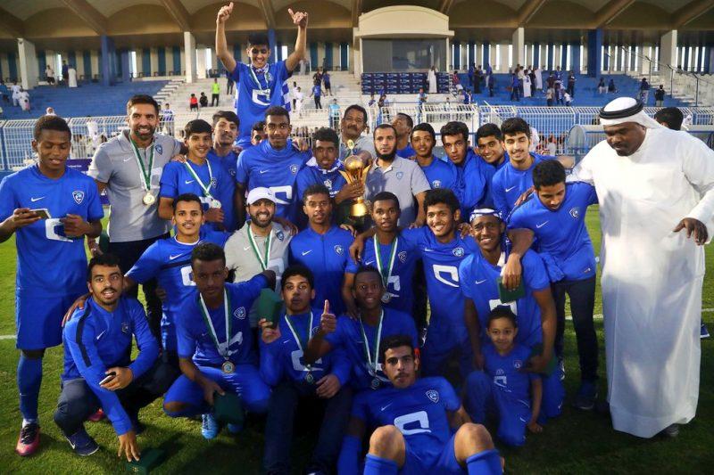 الهلال يتوج بكأس الاتحاد السعودي للشباب