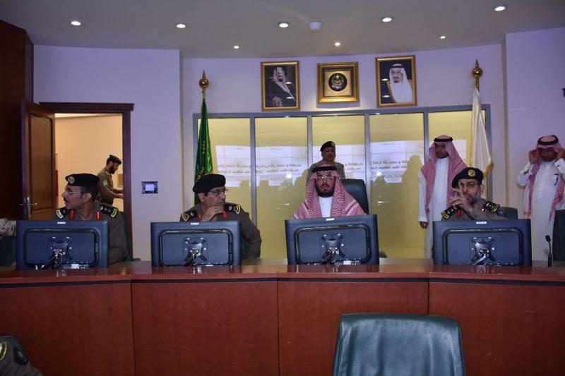 وكيل إمارة منطقة مكة المكرمة للشؤون الأمنية يسقبل قائد المركز الوطني للعمليات الأمنية