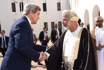 وزير الخارجية الأميركي يصل إلى سلطنة عمان لبحث الأزمة اليمنية
