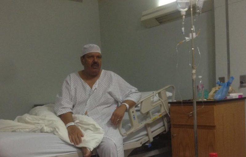 الشيخ محمد الحسان يُجري عملية جراحية