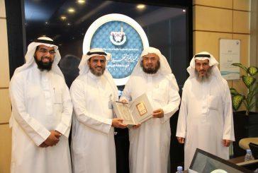 """وفد """"تحفيظ الرياض"""" يطلع منسوبي شركة المياه الوطنية على مشاريع الجمعية"""
