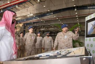 بالصور.. ولي ولي العهد يتفقد برنامج تطوير مقاتلات التورنيدو السعودية