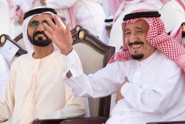 بالفيديو.. تفاعل خادم الحرمين مع الأهازيج الترحيبية بمهرجان زايد التراثي