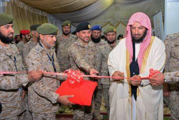 انطلاق فعاليات ملتقى (وطننا أمانة) الثاني بكلية الملك عبدالعزيز الحربية