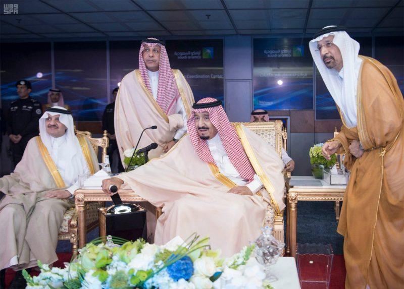 خادم الحرمين يدشن مركز الملك عبدالعزيز الثقافي العالمي بالظهران