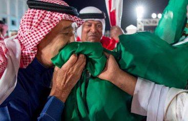 صور الملك سلمان في البحرين