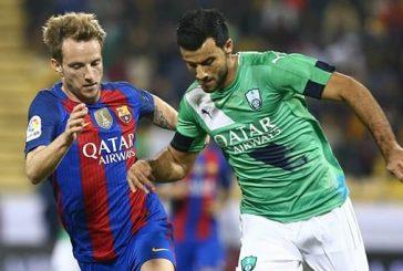 الأهلي يخسر أمام برشلونة بـ 5 أهداف مقابل3