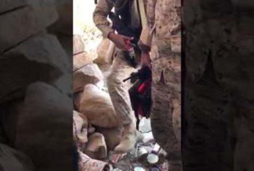بالفيديو: القوات السعودية تفجر ألغاماً كان الحوثيون ينوون زرعها على الحدود