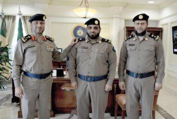 """ترقية المالكي إلى رتبة """"رائد"""" في الدفاع المدني بالمنطقه الشرقيه"""