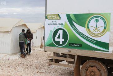 تبرعات الحملة الشعبية لإغاثة الشعب السوري تجاوزت 382 مليون ريال
