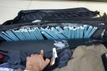 جمرك مطار الأمير نايف يُحبط محاولة تهريب 21 ألف حبة كبتاجون