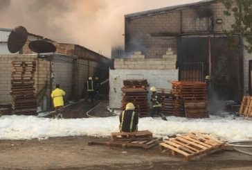 وفاة وإصابتين بحريق مستودع بالخمرة بمحافظة جدة