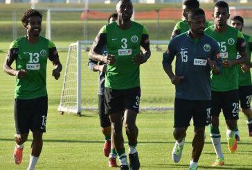 الأخضر يواصل تدريباته في أبو ظبي