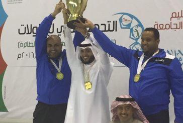 جامعة الإمام عبدالرحمن الفيصل تنتزع صدارة 4 بطولات رياضيه
