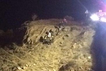بالصور.. إنقاذ شخصين احتجزا في منحدر بعقبة الباحة