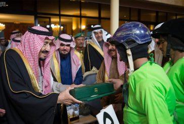 بالفيديو..خادم الحرمين يرعى مهرجان الجنادرية 31