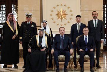 السفير الخريجي يقدم أوراق اعتماده للرئيس التركي