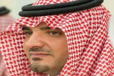 """مستشار وزير الداخلية الأمير عبدالعزيز بن سعود يقدم العزاء لأسرة """"العنزي"""""""