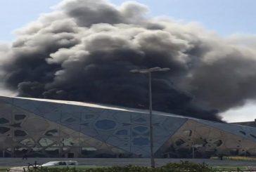 اندلاع حريق في مركز الشيخ جابر الثقافي بالكويت