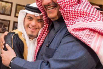 صور #ولي_العهد يلتقي وفدا من أعضاء ومنتسبي جمعية صوت #متلازمة_داون