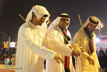 بالصور..جناح الإمارات يستقبل زائريه بالجنادرية