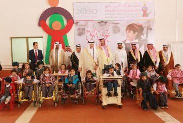 الأميران سلطان بن سلمان وفيصل بن سلمان يزوران مركز رعاية الأطفال المعوقين بالمدينة المنورة