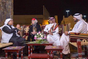 """بالصور..المذيعة السعودية """"نهى الحربي""""بالزي التقليدي لمنطقة الباحة في الجنادرية"""