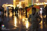 """عدسة """"تغطيات"""" ترصد الأمطار على مهرجان الجنادرية"""